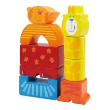 Haba Block Set Zoo 9-teilig