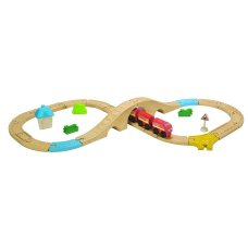 Plantoys Train Set 29-teilig