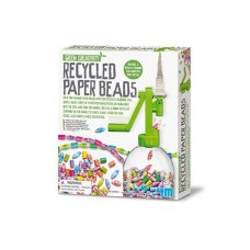 4M Kidz Lab Green Kreativität Recyclingpapier Bead Kette