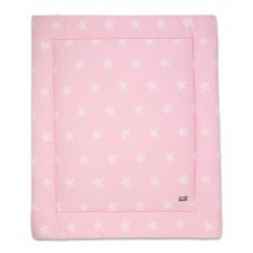 Baby nur Boxcloth Star Baby Pink (80x100)