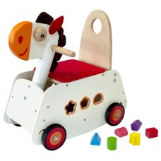 Ich bin Toy Carriage Horse mit Swing Funktion