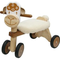 Ich bin Toy Balance Bike Sheep Brown