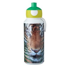 Trinkflasche Campus Pop-Up 400 ml Animal Planet Tigergrün