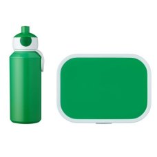 Trinkflasche und Lunch Box Campus Green