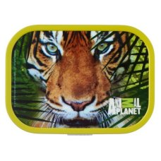 Lunchbox Campus Midi Animal Planet Tigergrün