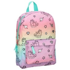 Milky Kiss Rucksack Stay Cute Rainbows And Unicorns Klein