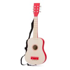 New Classic Toys Gitarre der Luxe Blank mit Rot
