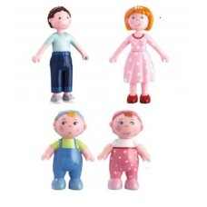 Haba Dollhouse Dolls Familie