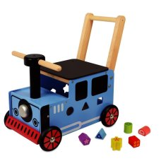 Ich bin Toy Carriage Train Blue